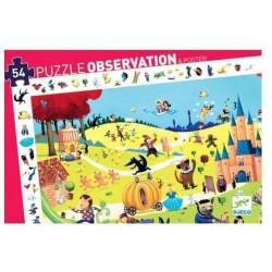 Puzzle d'observation contes...