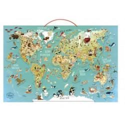 Carte du monde fantastique...