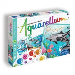 """Aquarellum """"Dauphins"""" -..."""