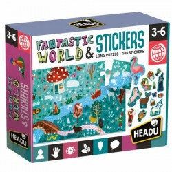 HEADU - puzzle + stickers...