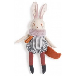 Grand lapin Plume Après la...