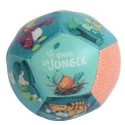 Balle souple Dans la jungle...