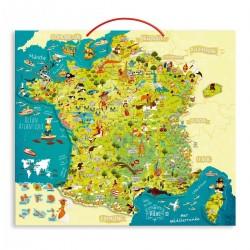 Carte de France éducative...