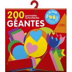 200 GOMMETTES GÉANTES POUR...