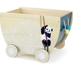 Chariot à jouets sous la...